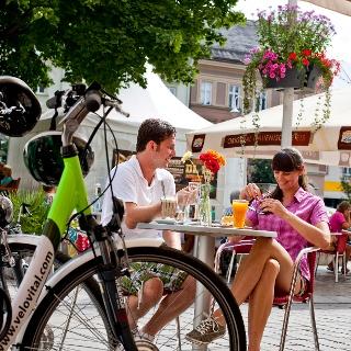 Zwischenstopp in der historischen Stadt Judenburg