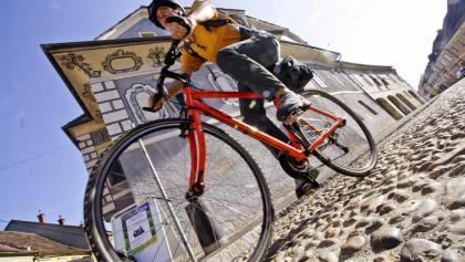 Start in der Altstadt von Bad Radkersburg