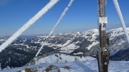 Vom Gipfel in Richtung Balderschwang