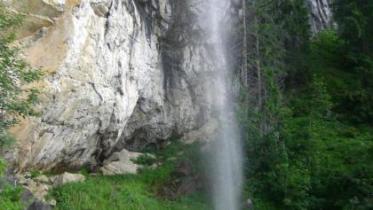 Schleierwasserfall im Juli