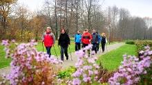 """Die """"rote""""  Nordic-Walking-Tour durch Burg (Spreewald)"""