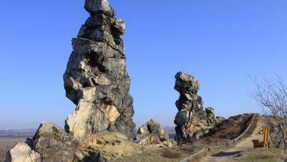 Teufelsmauerstieg - Foto Bodetal Information