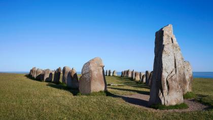 Steinzeitliches Gräberfeld