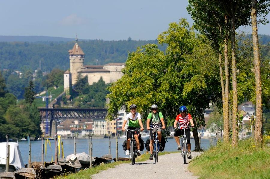 Rheinwärts nach Schaffhausen und zum Rheinfall