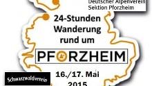 24 Stunden Wanderung Rund um Pforzheim. Wanderopening 2015