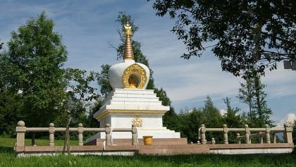 Buddhistische Stupa beim Letzehof