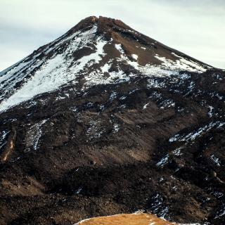 Rückblick zum Teide