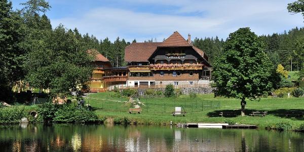 Naturpark-Wirt Landhaus Lauble auf dem Fohrenbühl