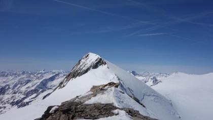 Blick über den Grat zum Rainerhorn.