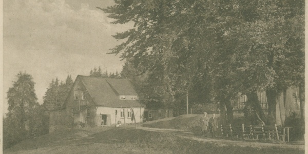 Polsterberger Hubhaus um 1925