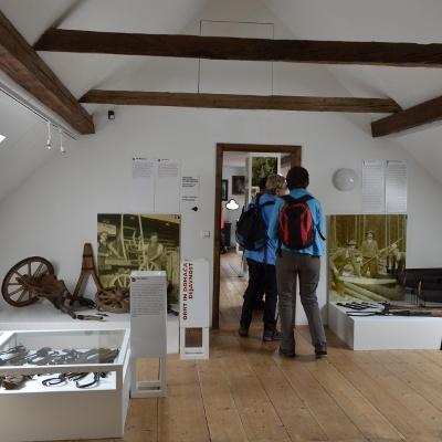 Im Ausstellungsbereich des Museum