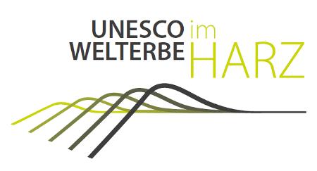 Logo UNESCO-Welterbe Bergwerk Rammelsberg, Altstadt von Goslar und Oberharzer Wasserwirtschaft