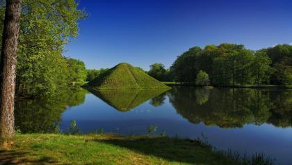 Die Erdpyramiden im Branitzer Park