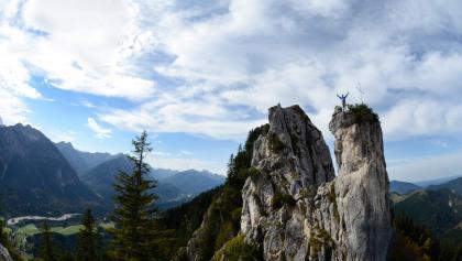 Klettergebiet am Zahn