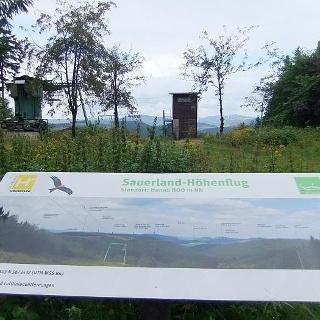 Aussichtspunkt Hunau-Skihang