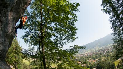 Klettergebiet Kofel Grottenwand