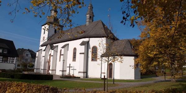 Kirche St. Gertrudis in Oberkirchen
