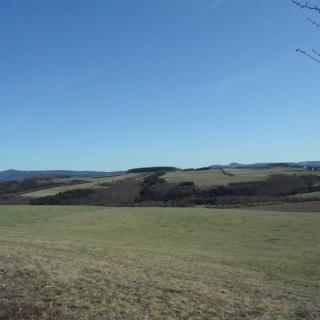 Blick von Naturschutzgebiet