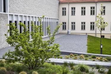 Museum Neuruppin Gartenanlage Eingang