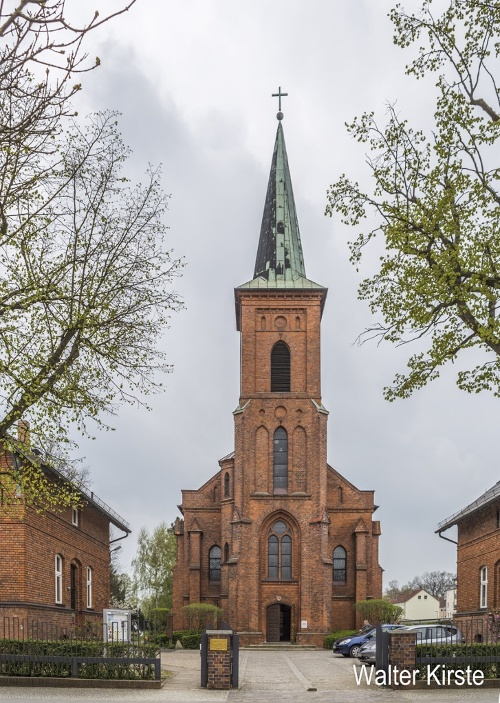 Herz Jesu Kirche Turm Neuruppin