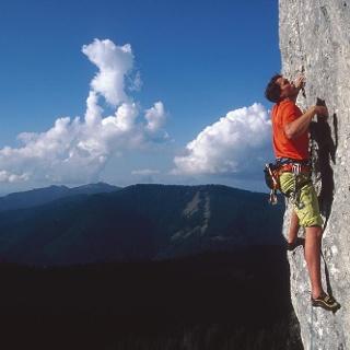Klettergebiet - Ettaler Mandl
