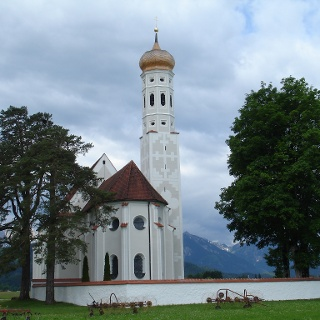 St. Coloman im freien Feld in Schwangau