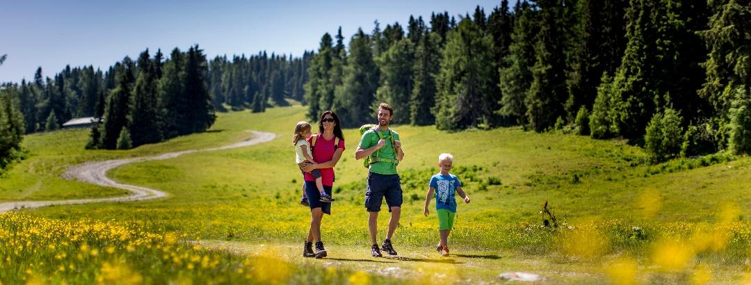Wandern mit Kindern auf der Frauenalpe
