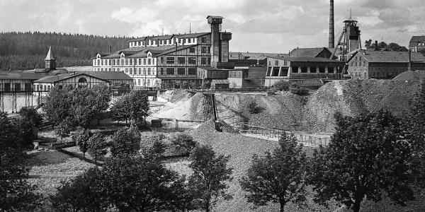 Neue Erzaufbereitung am Ottiliae-Schacht um 1925