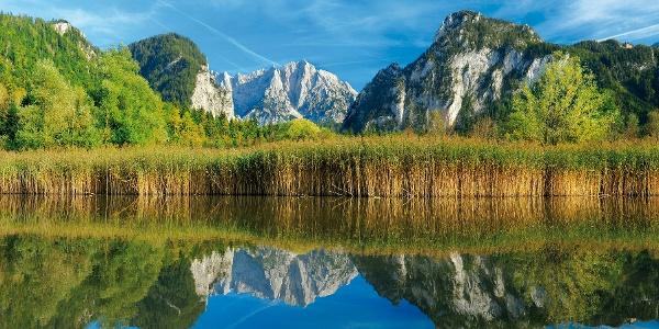 Blick in den Nationalpark Gesäuse
