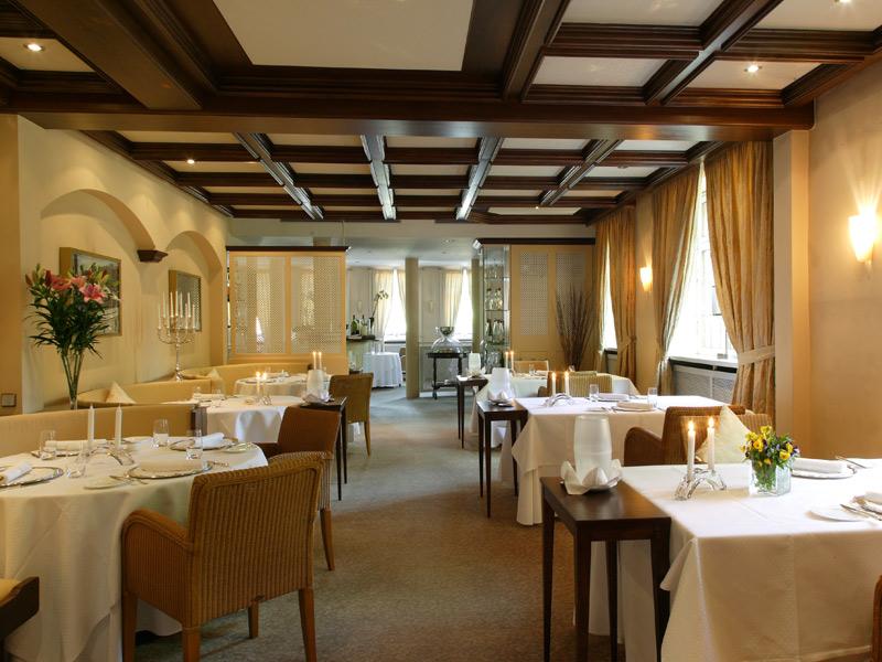 Gourmet-Restaurant Eisenbahn (Foto: Landhaus Wolf)  - @ Autor: Beate Philipp  - © Quelle: Hohenlohe + Schwäbisch Hall Tourismus e.V.