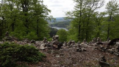 Blick zum Stausee und Schwarzwälder Hochwald