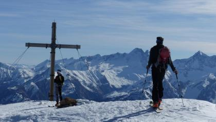 Am Gipfel des Obernberger Tribulaun - ein erhabenes Gefühl.