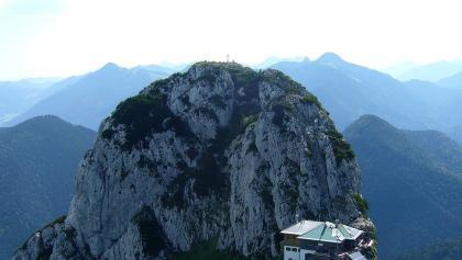 Blick auf die Tegernseer Hütte