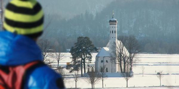 Blick auf St. Coloman