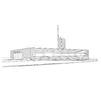 Gebäude der Feuerwehr und Bergrettung Schoppernau