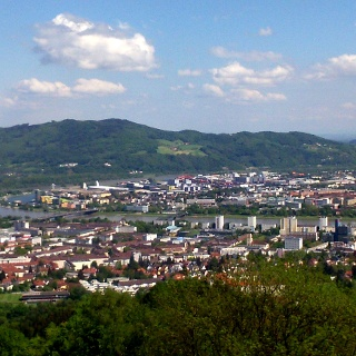 Pöstlingberg 539m, Blick auf Linz