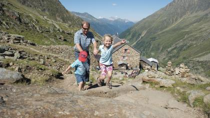 Auf diesen Alpenvereinshütten sind Familien willkommen