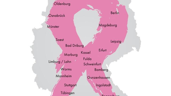 Mit dem Fahrrad unterwegs in Deutschland und der Schweiz