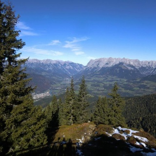 Blick ins Tennengebirge
