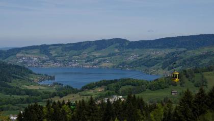 Blick vom Mostelberg zum Ägerisee.