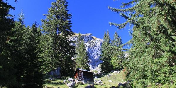 Zustieg zur Biberacher Hütte