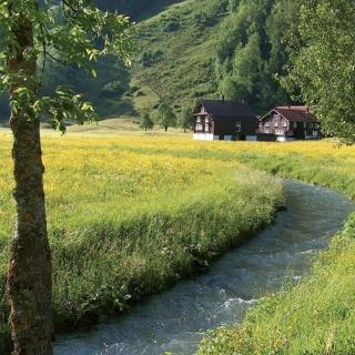 Weg der Schöpfung: idyllischer Bauernhof auf dem Weg ins Muotathal