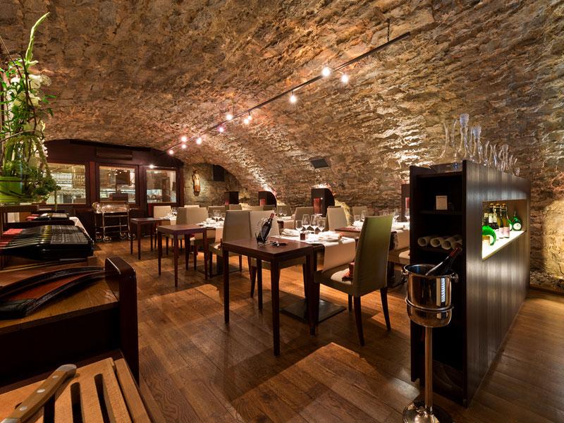Das Gourmetrestaurant im Gewölbe (Foto: Hotel Laurentius)  - @ Autor: Beate Philipp  - © Quelle: Hohenlohe + Schwäbisch Hall Tourismus e.V.