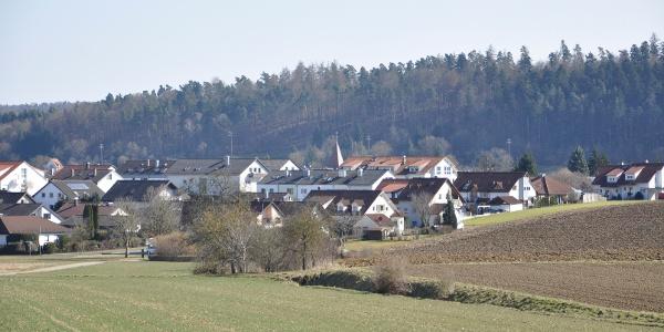 Blick auf Nufringen
