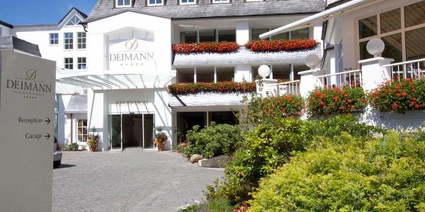 Das Romantik-&Wellnesshotel Deimann in Winkhausen