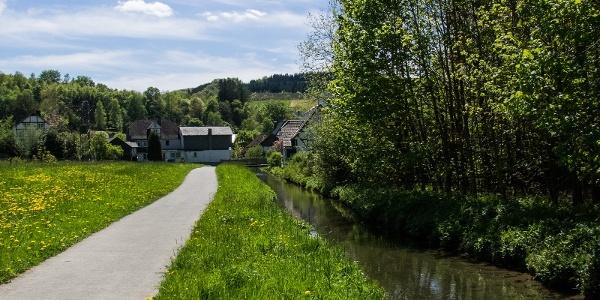 Der Mühlengraben bei Oberkirchen
