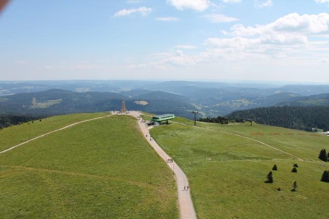 Von Todtnau über die Berger Höhe zum Feldberg
