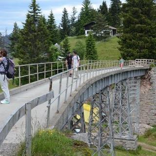 Der historische Unterstetten-Viadukt.