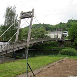 Eichenholzbrücke bei Moersdorf