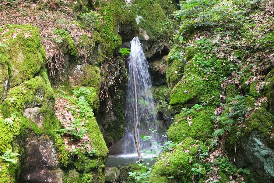 Weilheim:  Haselbachwasserfall